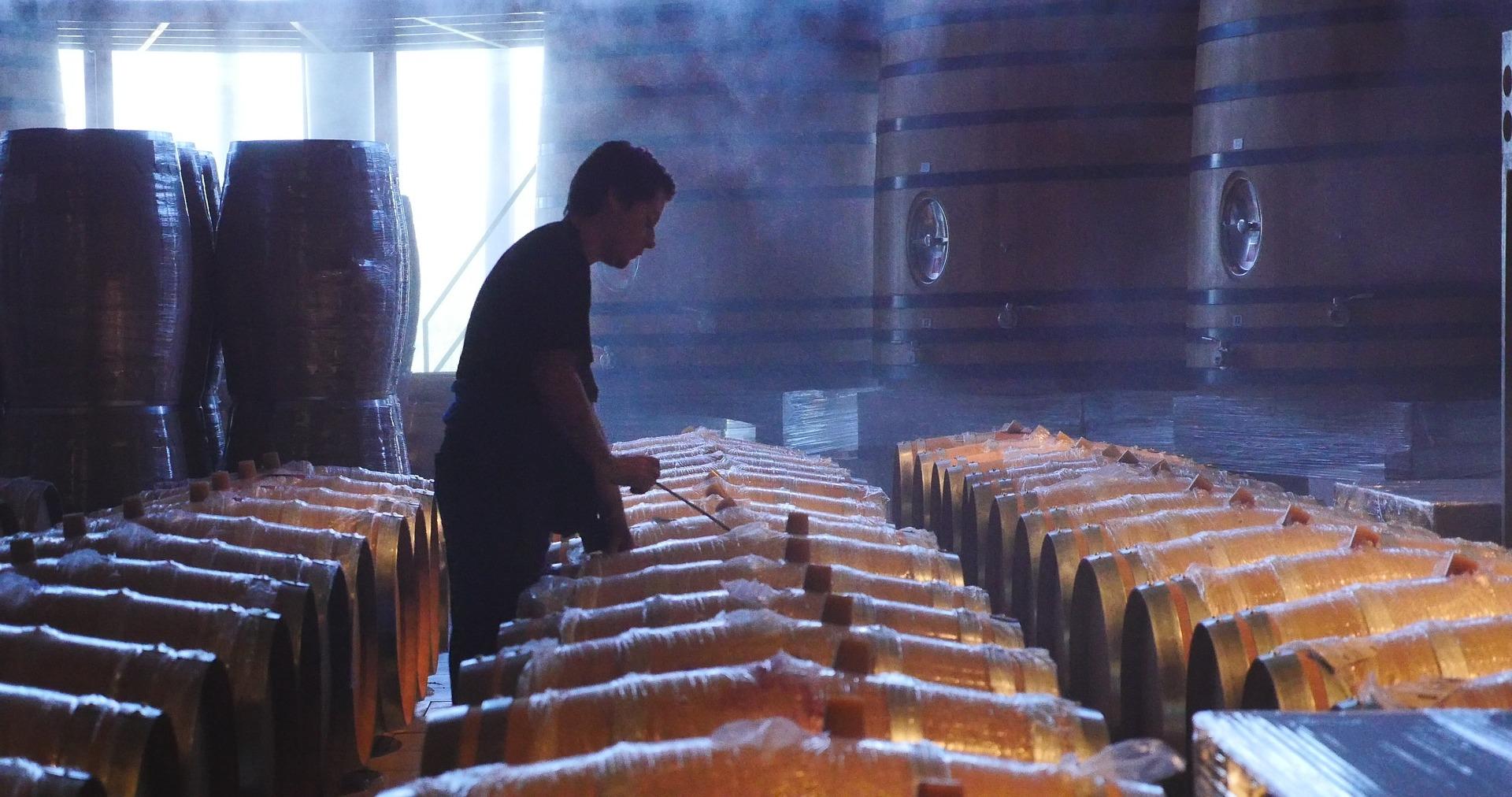 Microoxigenación del vino.
